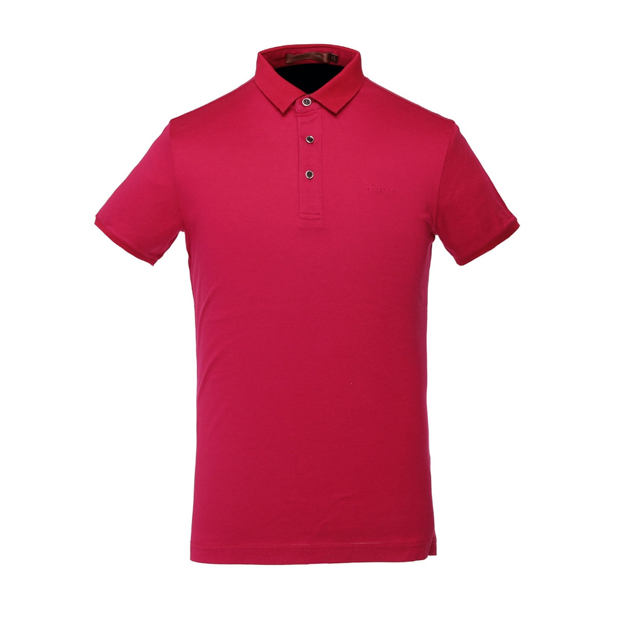 Red color man  Polo shirt soft cotton plain tshirts polo collar tshirt design