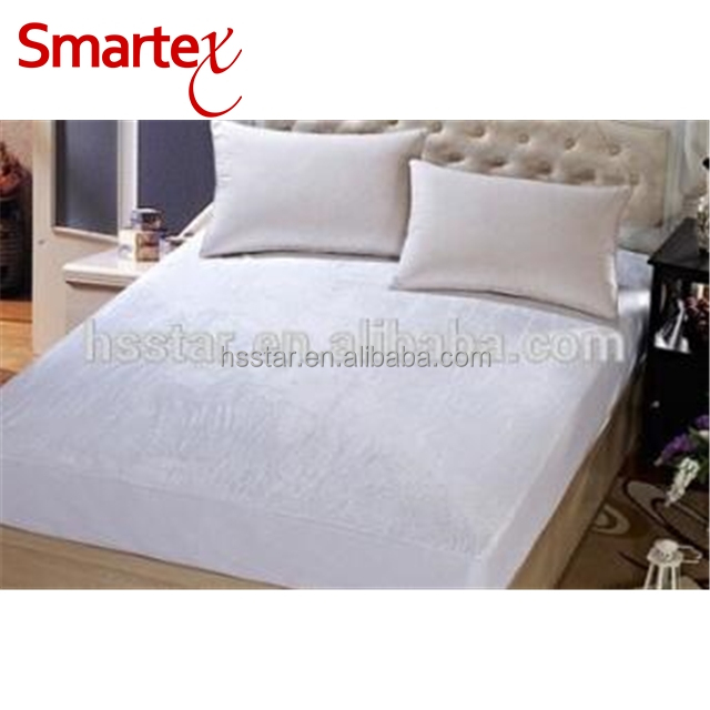 queen size softest touch short plush fabric mattress protector mattress pad