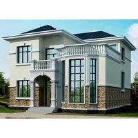 PYGG-101 260-270 square meter two storey light steel villa