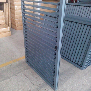 High quality ventilation and sun control aluminum louver shutter