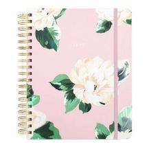 Custom ปกแข็ง daily planner organizer notebook with elastic ปิดและแท็บ