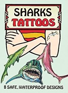 Dover 466724 Dover Publications-Sharks Tattoos