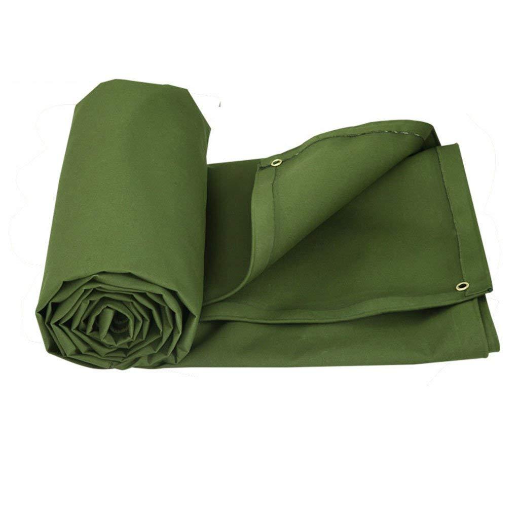 Ren Chang Jia Shi Pin Firm Tarpaulin sunscreen outdoor thick tarpaulin waterproof cloth scratch-resistant sunscreen truck sedan canvas rain cloth tarpaulin tarpaulin (Color : Green, Size : 22M)