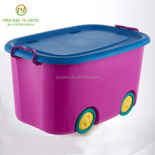 Household waterproof multi-function plastic toy storage bins