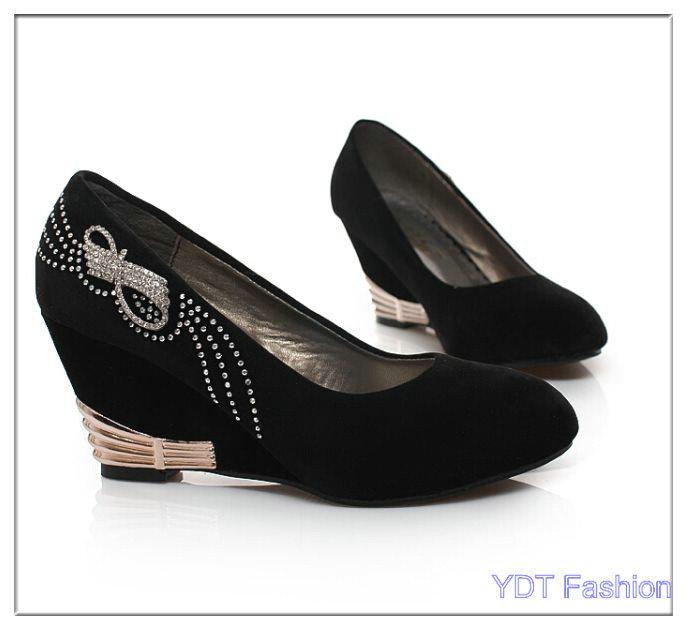 756c8f05bb56b 2014 sexy women pumps Transparent soles platform 5 cm Flower high heels 15  cm black sexy patent leather Crystal heel club