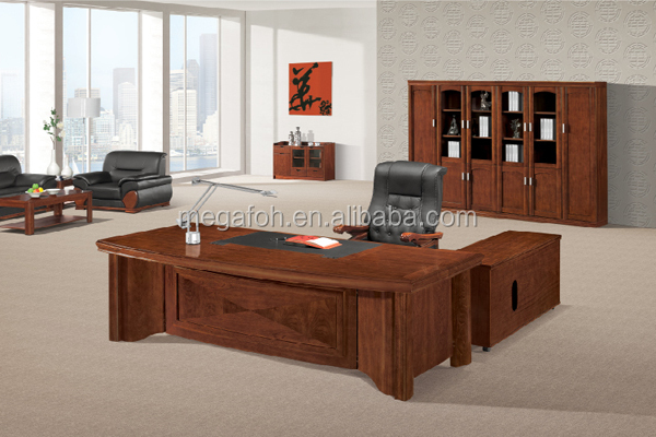 high end general manager office furniture set with executive desk