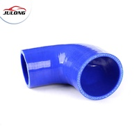 Heat resistant 90 degree elbow reducer Fluorosilicone rubber Silicone hose