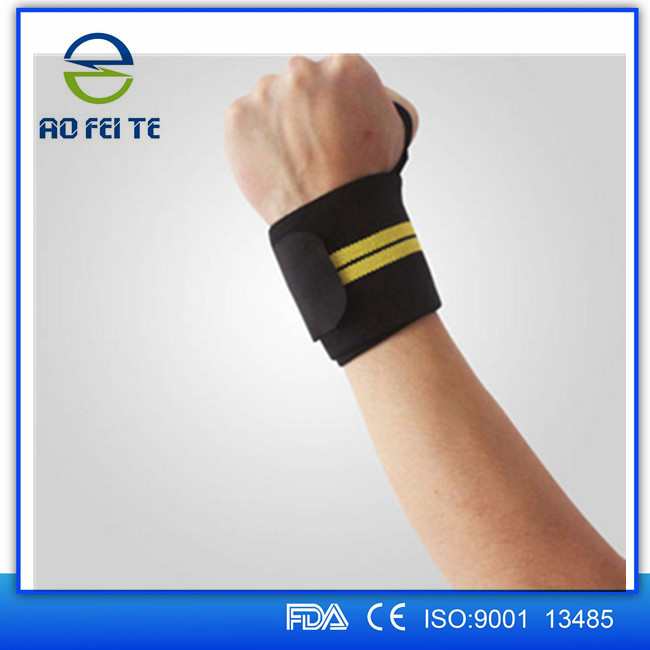 wrist strap / wrist support / weight lifting wrist wraps