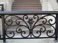 ornament wrought iron railings design