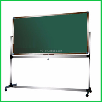 aluminum frame magnetic folding board folded whiteboard felt board notice board