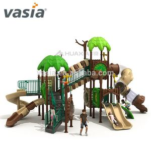 small size outdoor playground equipment professional kids game play set swing and slide set