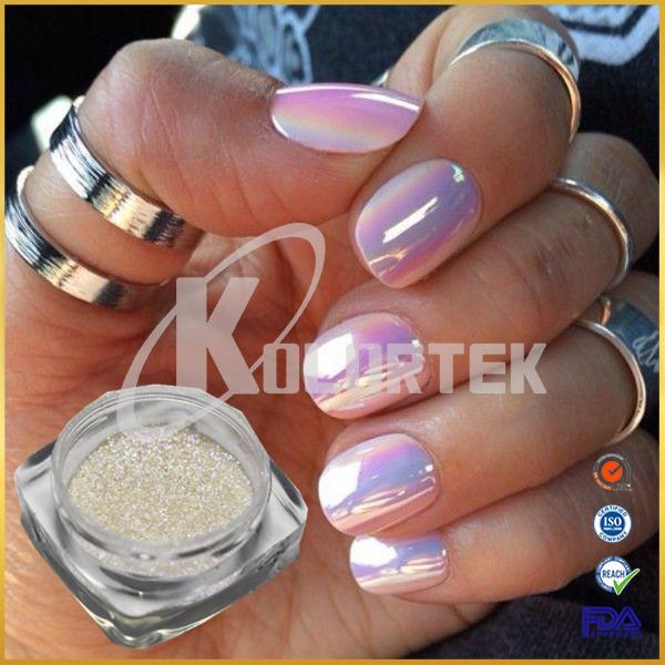Factory Price Rainbow Unicorn Mermaid Chrome Powder For Aurora Pigment Nail Art