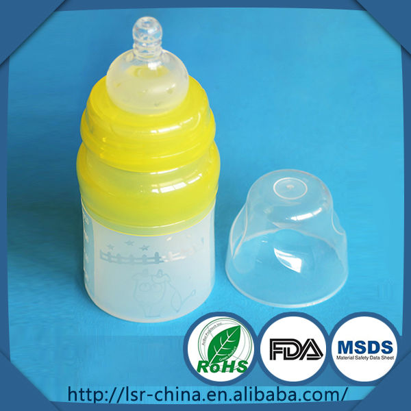 Hot selling baby bottle feeding machine,disposable baby bottles