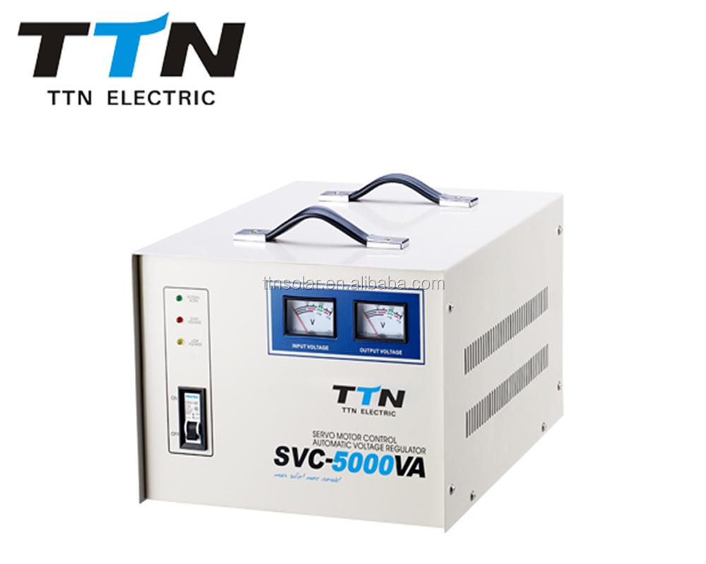 Lowest price SVC Series 5KVA ac automatic voltage transformer stabilizer