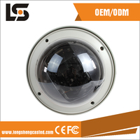 Alu material outdoor use waterproof IP66 cctv dome camera cover Alu material outdoor use waterproof security systems for home