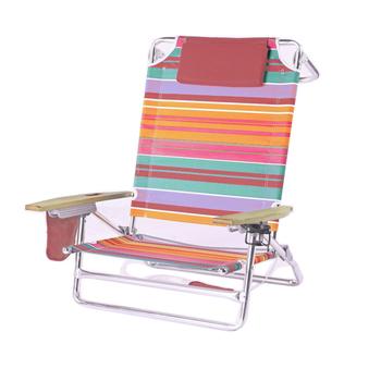 Patio De Luxe Portable Nautica Chaise Plage