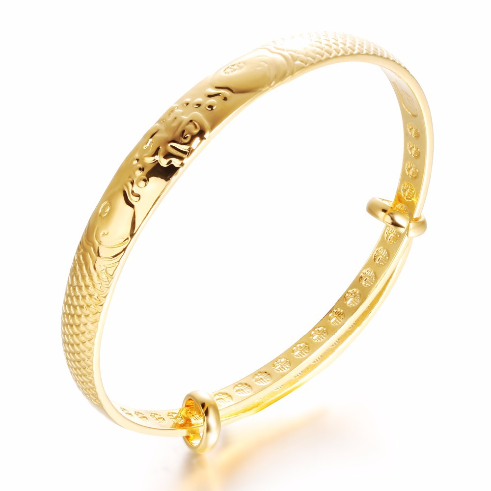 Gold bangle vintage jewelry bracelets bangles gold simple ...