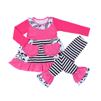First Birthday Outfit Ruffle Fall And Winter Western Girls Boutique Outfits