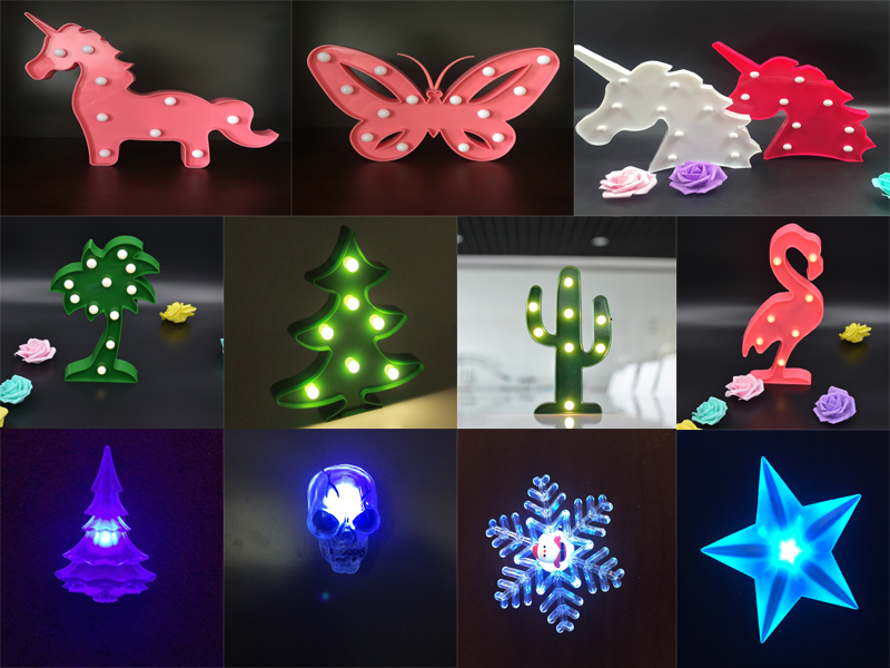 Battery Operated new design craft marquee garden decoration LED pineapple letter light sign