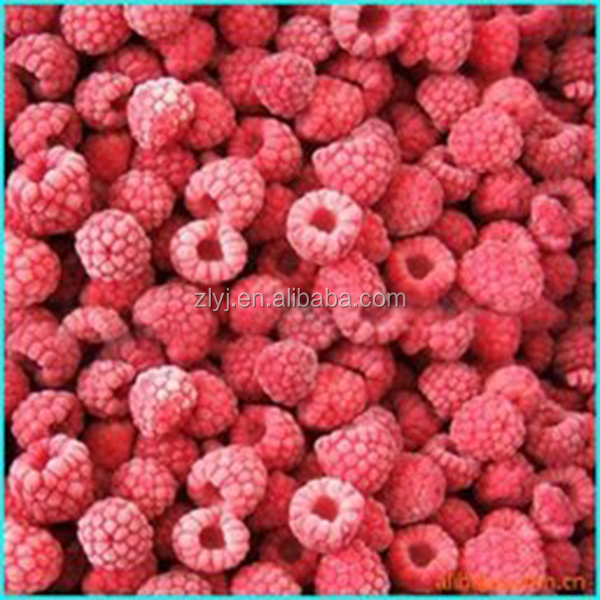 Hot-Sale IQF Frozen Raspberries of zhongliang