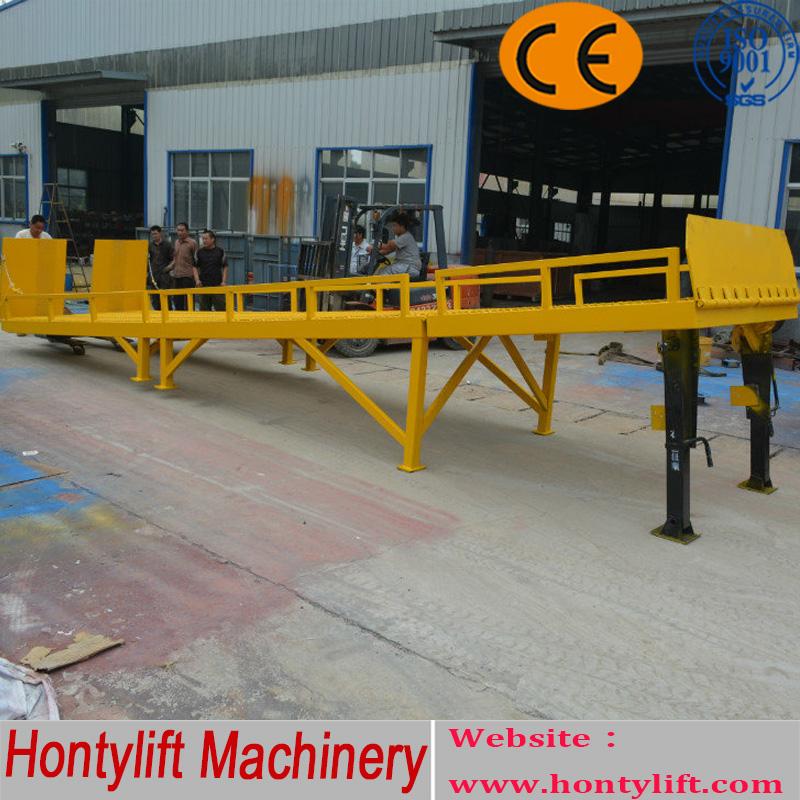 China Supplier 8t Ce Dock Ramp/hydraulic Lifting Platform/dock ...