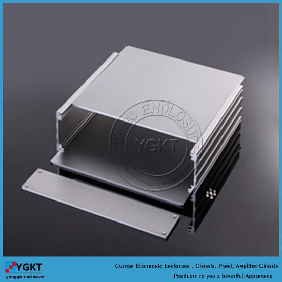 270*56*235 mm 10.6''x2.2''9.25'' (WxHxL ) beautiful aluminum gsm modem casing