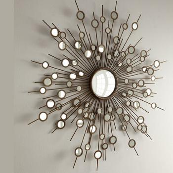 Lattices Design Metal Frame Wall Mirror Art - Buy Lattices Design ...