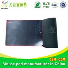 Rubber+Non-Woven Mouse Pad Cool Printed Rubber Game Mouse Pad