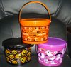American Fashionable First Rate High Quality food grade Halloween plastic bucket with lid Bpa free