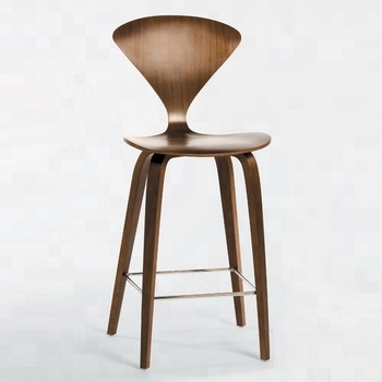 Norman Cherner Counter Home Furniture Walnut Plywood Bar Stool Buy