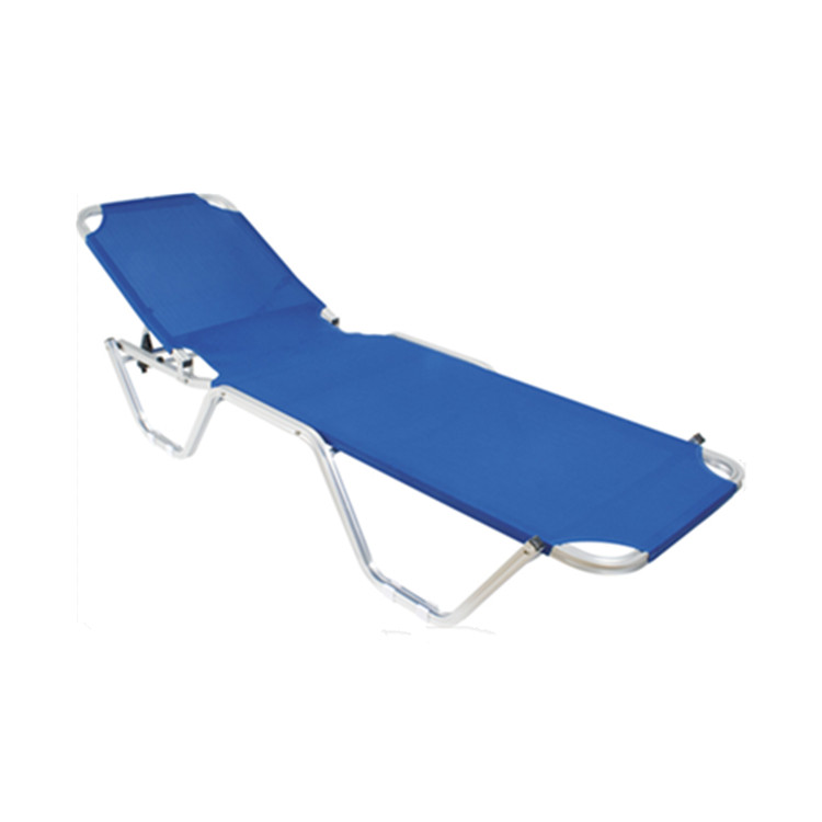 sun lounger parts beach leisure swimming pool chaise lounge chair with relaxed fabric
