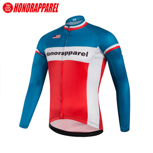Summer international original cycling jersey long sleeve digital printing pro cycling team jersey