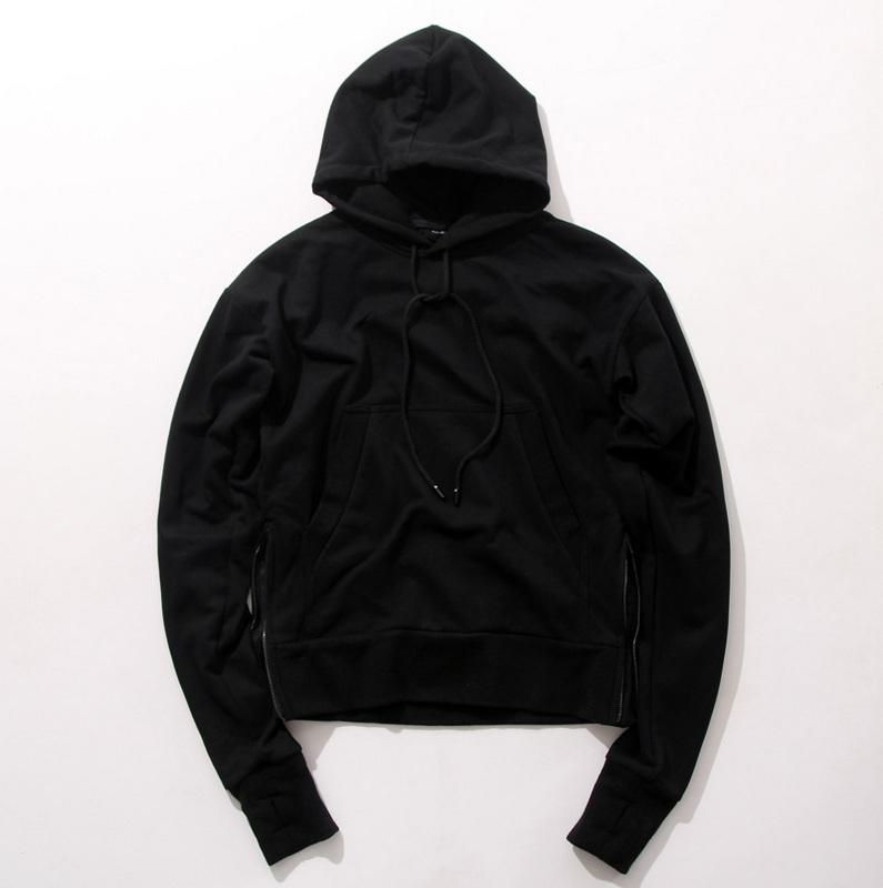 Black hoodie for men