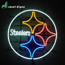 High Quality real glass custom beer neon sign