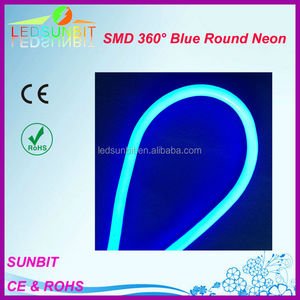 SMD NEON 360 Blue led neon flexible CE tube light RGB color 12V