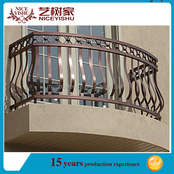 New Design Wrought Iron Veranda Security Windows, Iron
