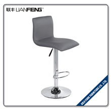 Fashionable adjustable footrest bar stool chair