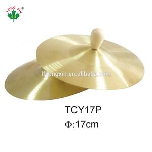 cheap high quality 16 inch Copper arborea marching Cymbal musical instruments series for baby