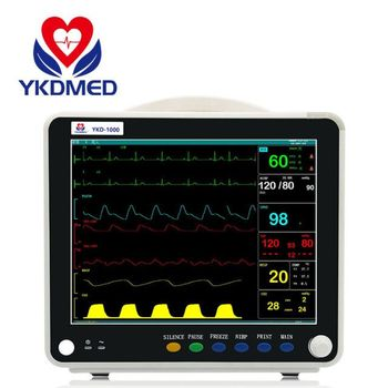 2018 New arrival 12.1 inch Multi Parameter Patient Monitor, Manufacturer from China