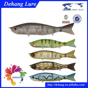 2015 New Design Swimming Well Two Jointed Lures For Fishing