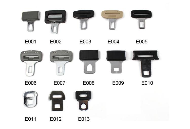 High Quality Metal Car Seat Belt Buckle Supplier