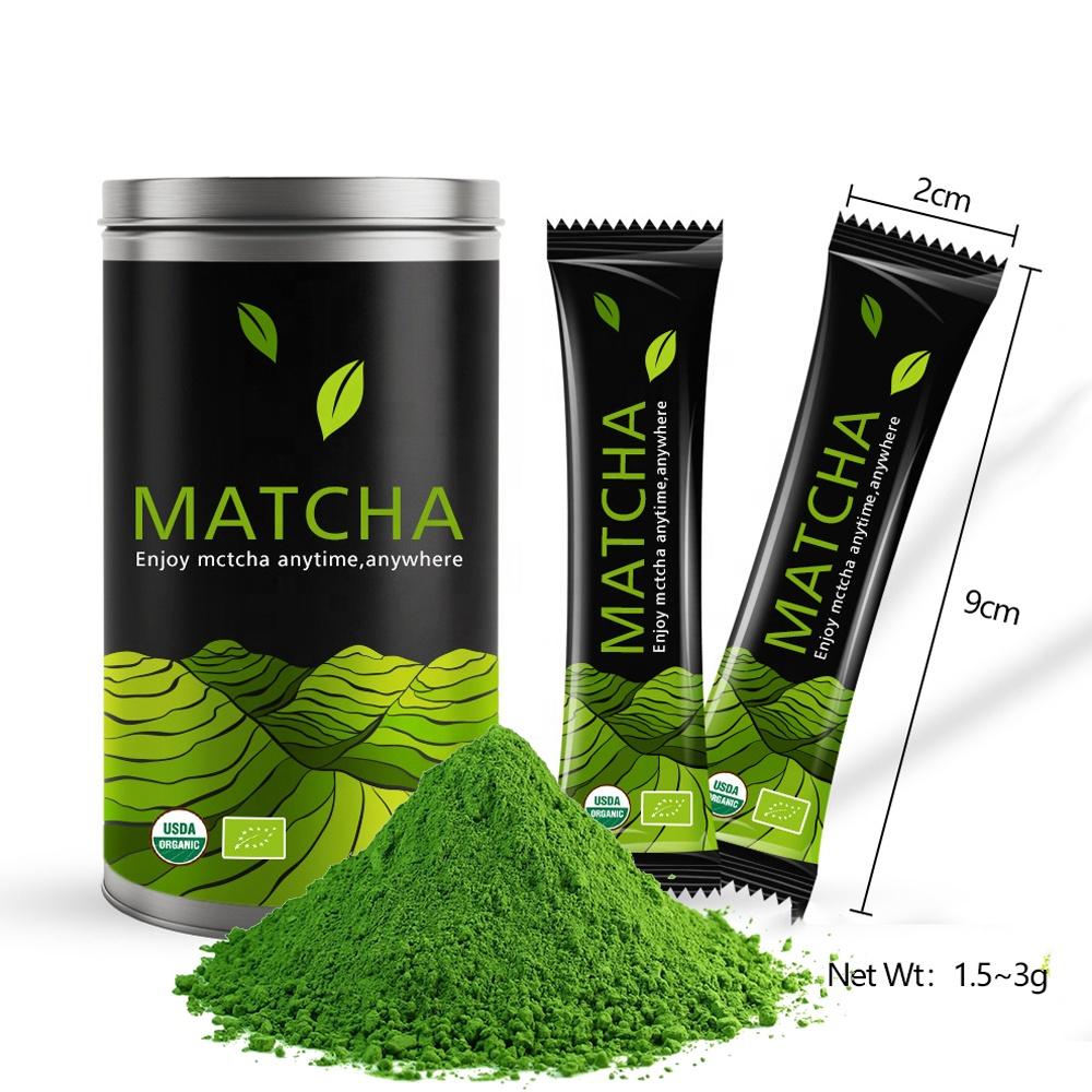 Organic Japanese USDA EU Certificate Nishio Matcha Sencha Hojicha Tea Drink Ceremonial Grade Matcha Green Tea Powder - 4uTea | 4uTea.com