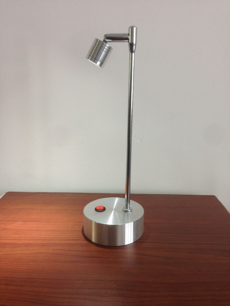 Battery Powered Operated Led Desk Lamp Mini Table Lamp