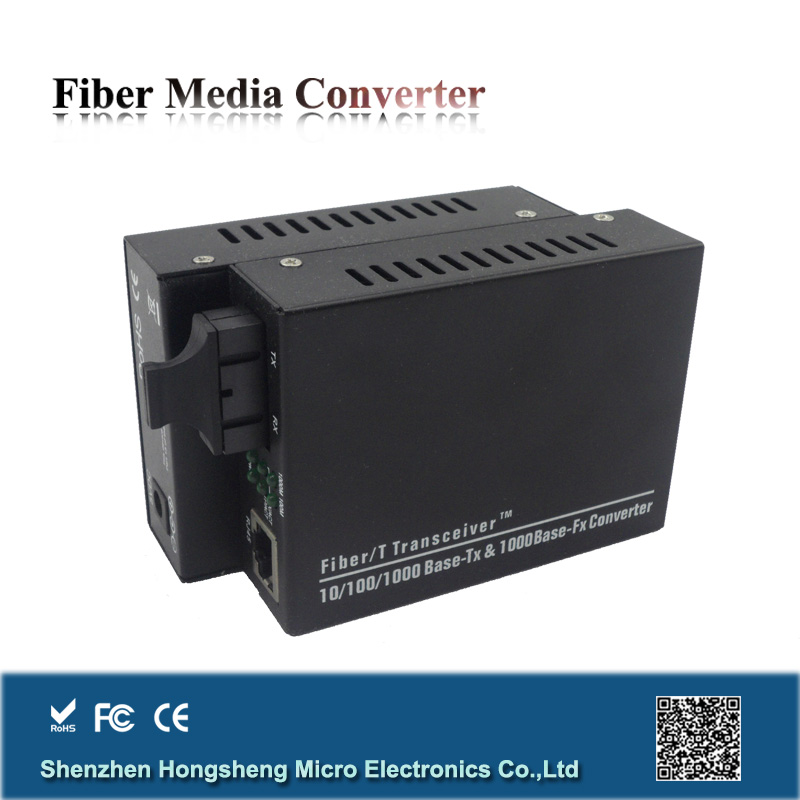 New design dual fiber 10/100/1000m optical convertor