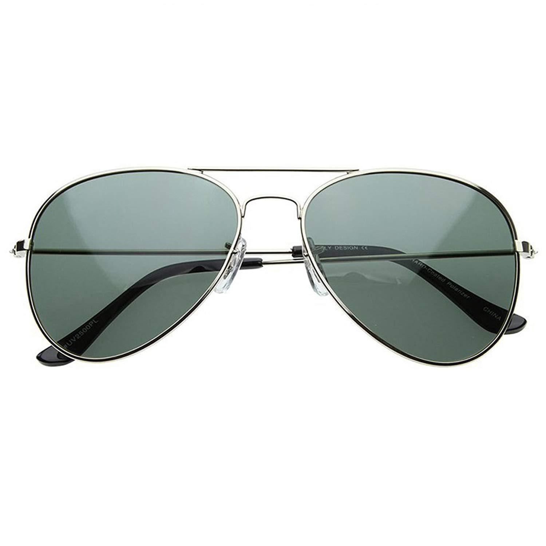 Classic Tear Drop Polarized Aviator Sunglasses Pilot Cop Mens Womens