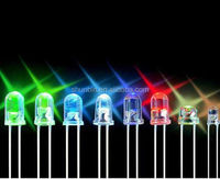 ll colors 5mm round 4 leg rgb ultra bright led diode