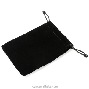 customized black velvet bags jewelry pouches Perfect for Jewelry Wedding Favors Gift Packaging