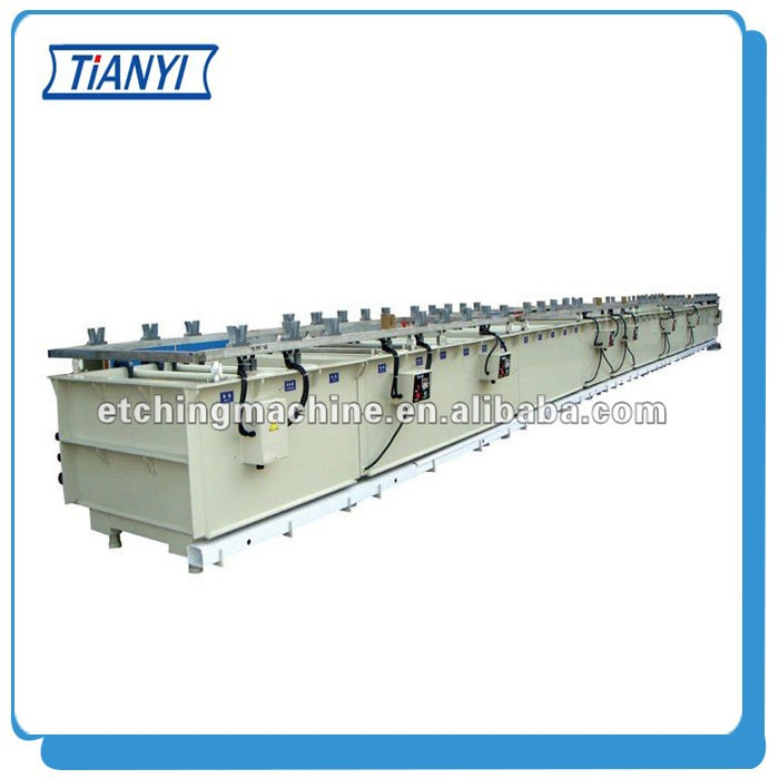 Metal Copper Plating machine Production Line