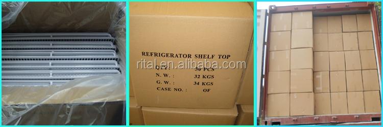 refrigerator racks. hot sell stainless steel freezer racks refrigerator wire shelves spare parts