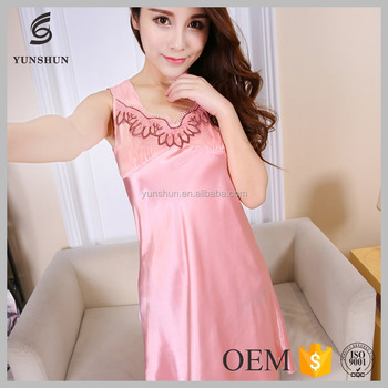 51fd2255e Elegant hot-sale mature sleepwear nightwear sexy night dresses fashion ladies  night dress